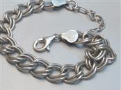 Silver Link Bracelet 925 Silver 14.1g